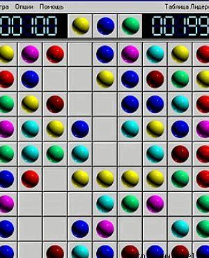 Lines 98 играйте в онлайн игру шарики бесплатно.